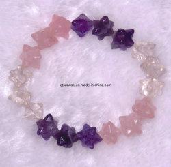 Joyería moldeada cristalina Bracelet<Esb01238> de la piedra preciosa de la manera