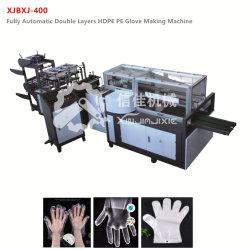 Goedkope prijs High Speed 600PCS HDPE PE wegwerphandschoen Machine maken