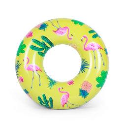 カスタマイズ可能なPVC 20インチのおもちゃの卸売の大人のアヒルの水泳のリング