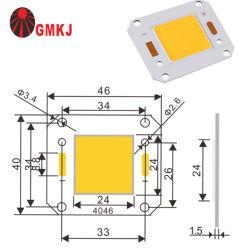 주문을 받아서 만들어진 가득 차있는 스펙트럼은 가벼운 380-840nm 20W 30W 50W 100W 플립칩 Dob LED 모듈 CRI 90 옥수수 속 LED 플러드 거리 플랜트를 증가한다 가벼운 50W를 증가한다