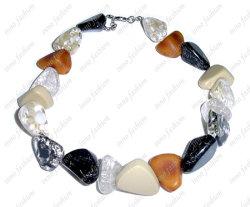 Mezcla de Diamantes Collar de resina (INNO-N-0107-3)