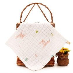 Einzigartiges Design Muslin Squares 100% Baumwolle Baby Gesichts-Muslin Tuch Für Gesicht