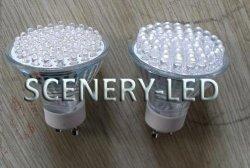 Lâmpada do Farol de LED 12V com invólucro de vidro