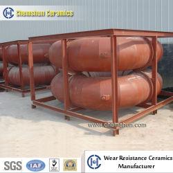 Doublure en céramique Chemshun plier pour le ciment de la résistance de haute usure