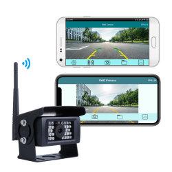 互換性のある iPhone iPad および Android デバイス 150 を簡単にインストールできます Degrees Golden Angle IP68 トラック用防水ワイヤレスバックアップカメラ RV