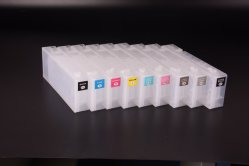 Ocbestjet 160ml/PC T5801-T5809 cartucho de tinta vacío rellenable con sensor de chip Para impresora Epson Stylus PRO 3800