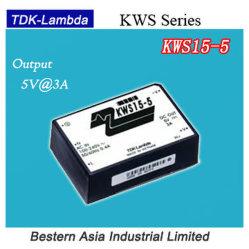 Alimentation : Tdk-Lambda Kws15-5 15W 5V Alimentation AC-DC