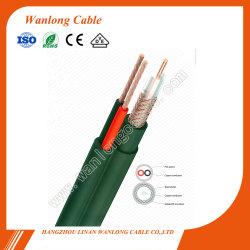 Câble RG59 CCTV RG59+2c Câble d'alimentation Câble coaxial composite