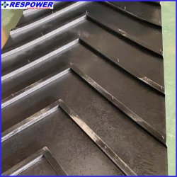 Nn/EP/cc avec Chevron en caoutchouc Connveyor Filct résistant aux acides et alcalis/Wear-Resistant
