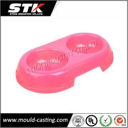 Tazón de fuente plástico del animal doméstico para introducir (PB001)
