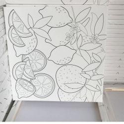 도매 벽 예술 화포에 주문 화포 인쇄