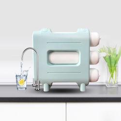 Hot Sale Matériau ABS de l'eau du filtre à robinet système RO ménage l'Osmose Inverse RO purificateur d'eau pour la famille moderne