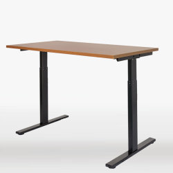 Moins de bruit électrique de réglage de hauteur s'asseoir Stand up Desk pour station de travail de bureau