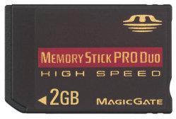 Карта памяти Memory Stick ProDuo высокой скорости (EDC-MS2)