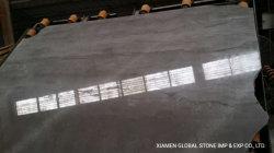 Natürlicher China-silbernes Grau-Polierdrache/beige Steinplatten zurechtgeschnittene Fliese-Marmorplatte für Innenwand-Umhüllung, Kitchen&Bathroom Oberseiten