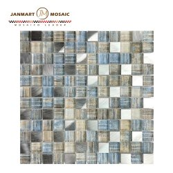 Mosaico Mosaico de Vidro Solto Amostra do mosaico de cristal display board para venda