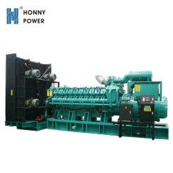 2000kw 2500kVA carácter duplo de combustível diesel do gerador de mistura de gás