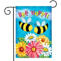 Custom дизайн печати из полиэфирного волокна животного бабочка цветок с радостью Bee сад флаг