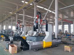 Hochgeschwindigkeits-CNC-Bohrung-lochende Maschine für Stahlplatten-Gefäß-Stahlblech-Platten-Bohrmaschine
