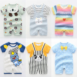 Baby Rompers ropa personalizada de bebé 100% algodón