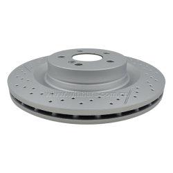 Kundenspezifische hintere Bremsen-Platte (Läufer) für Selbstersatzteile MERCEDES-BENZECE R90