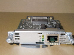 VWIC Cisco/VAN/GBIC/SFP/NM/Módulos de WIC (VWIC-1MFT-E1)