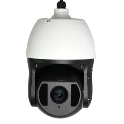 حاوية من الألومنيوم الحلو الخارجي ذات دقة عالية بدقة 2MP 26X ضوئية بالأشعة تحت الحمراء كاميرا PTZ CCTV IP IP66 بنظام التحكم في السرعة من نوع PTZ لتوفير الأمان و المراقبة