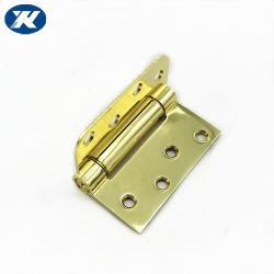 Cerniera di portello interna della molla di azione del portello di legno dorato d'acciaio del ferro singola