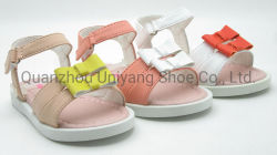 2020 Venta caliente chica arco zapatos bebé zapatos Sandalia Prewalker niños zapatillas zapatos para niñas