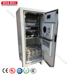 IP55熱交換器が付いている力モジュールのための屋外の電気制御キャビネット