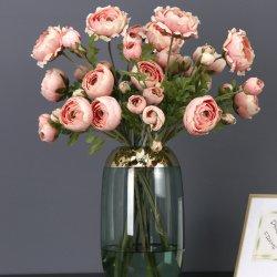 Camellia Lotus Une fleur artificielle de rosée
