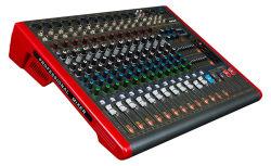 Misturador de DJ 12 canais Potência de áudio do amplificador misturador Digital mistura 12 DSP +48V phantom