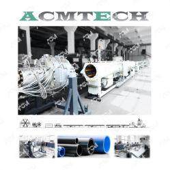 Einzelner LDPE-Rohr-Extruder-Plastikstrangpresßling-Zeile des Schraube HDPE-PPR pp. des PET-LLDPE