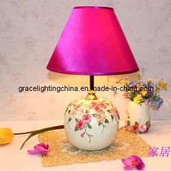 Venta caliente chino Jarrón pintado a mano Lámpara de mesa (GT-1065B-1)