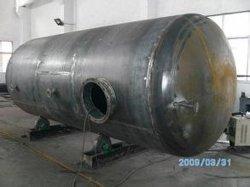 acier au carbone prix d'usine réservoir d'air de stockage personnalisée