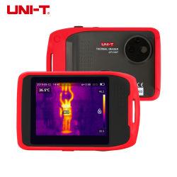 كاميرا التصوير الحراري بالأشعة تحت الحمراء UNI-T UTi120T المحمولة مع لمس 3.5 بوصة نطاق درجة حرارة اتصال التطبيق وWiFi ودعم الشاشة حتى 20 درجة c~400º مئوية