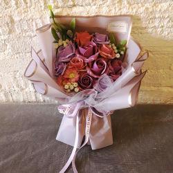 Sabão de banho de casamento romântico Rose Flower