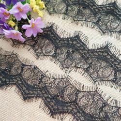 من النايلون السويسري العين الأزياء الملابس الملحقات قماش مع فرش مع نسيج زهور ثلاثي الأبعاد