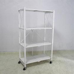 Быстрая сборка Домашняя мебель складная конструкция для установки в стойку с 4 съемные колеса