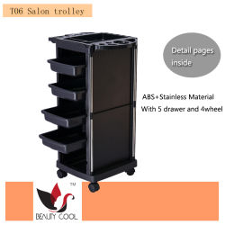 2021 Salon Hot sale Beauty Trolley Cart Black Color
