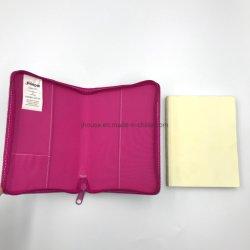 كمبيوتر دفتري مخصص مقاس A5/A4 مع غطاء جلدي للإعلانات الترويجية الخاصة بعيد الميلاد مع غلاف أزياء زيبر جورنال