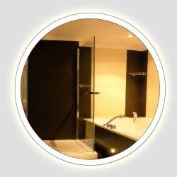 Hotel Ronda decorativos de pared LED retroiluminada de cuarto de baño Espejo con luces