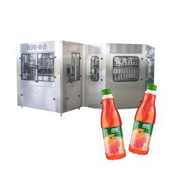 خط كامل يمكن أن يملأ الطين التلقائي من الألومنيوم الحليف آلة منع التسرب لمشروب المشروبات الغازية وعصير الصودا الماء غير المسحوبن