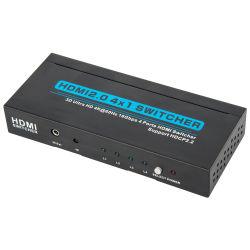 4K HDMI 4 em 1 (3D HD Ultra 4Kx2K@60Hz) Interruptor HDCP2.2 HDMI V2.0