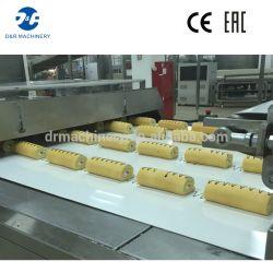 Capa Máquina Línea de Producción de la torta del caramelo de algodón para la venta