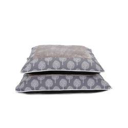 연약하고 온난한 나무 패턴 애완견 침대 베개 (YF95263)