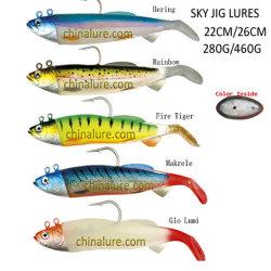 Neues Fischen-weicher Köder-Himmel-Spannvorrichtungs-Fisch-Köder-Spannvorrichtungs-Kopf