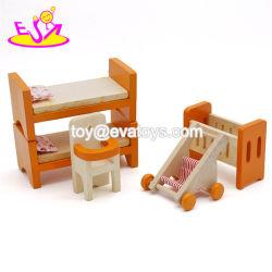 Mejor diseño de madera Accesorios Dollhouse niños W06b057.