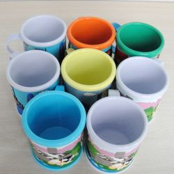 PVC Mug (AS-PM-LU-003) di 3D Plastic Soft