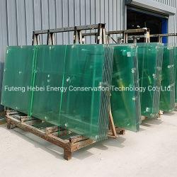 تصميم زجاج مستدق ومنخفض E/منحني/مسطح/منحني/فتحة وحافة المصنع